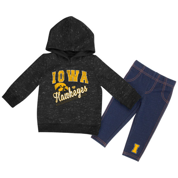 Iowa Hawkeyes Infant Toe Flip Set