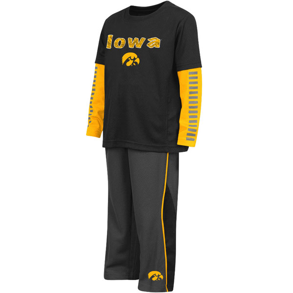 Iowa Hawkeyes Toddler Xenon Set