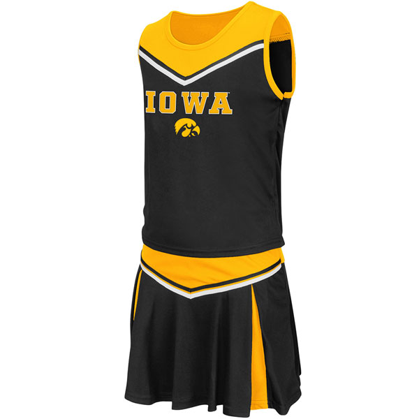 Iowa Hawkeyes Toddler Aerial Cheer Set