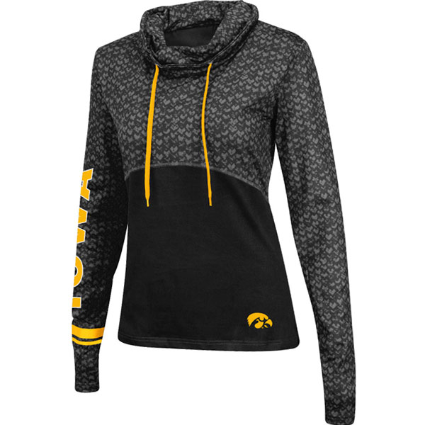 Iowa Hawkeyes Women's Scaled Pullover