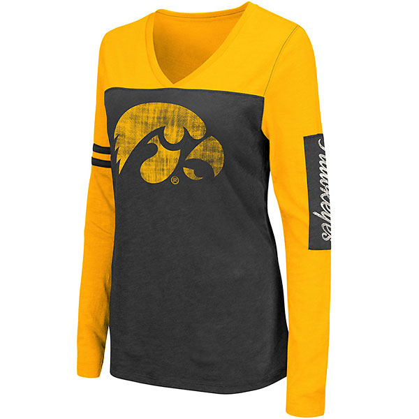 Iowa Hawkeyes Women's Watevs Tee