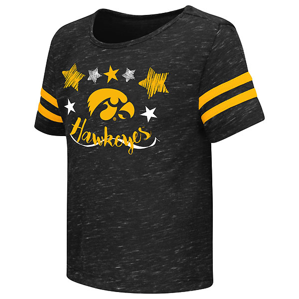Iowa Hawkeyes Toddler Janice Tee