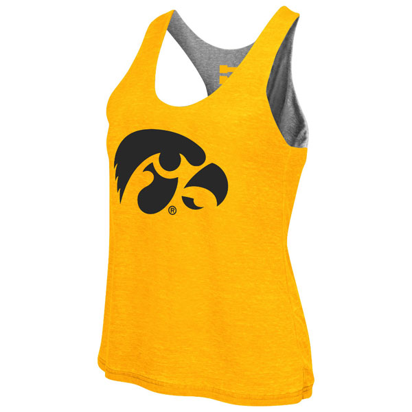 Iowa Hawkeyes Women's Double Twist Tank