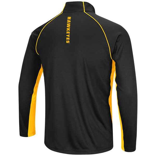 Iowa Hawkeyes Airstream 1/4 Zip Windshirt - Tall Size