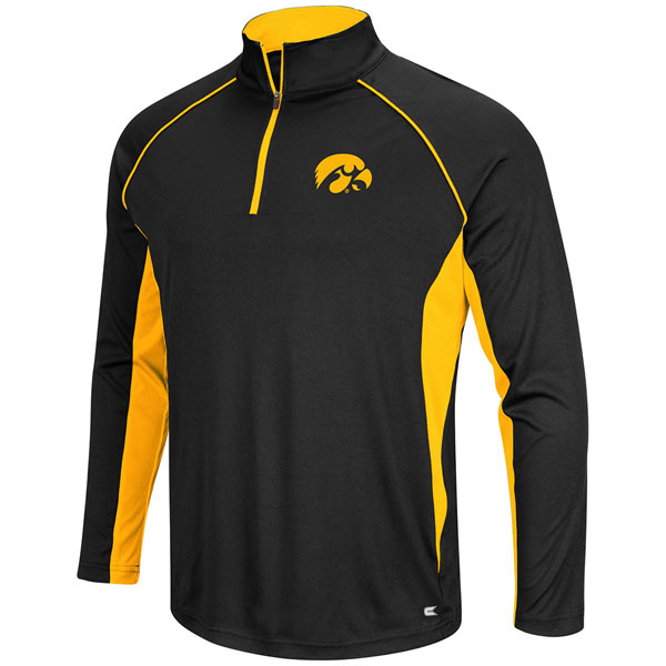 Iowa Hawkeyes Airstream 1/4 Zip Windshirt - Big Size