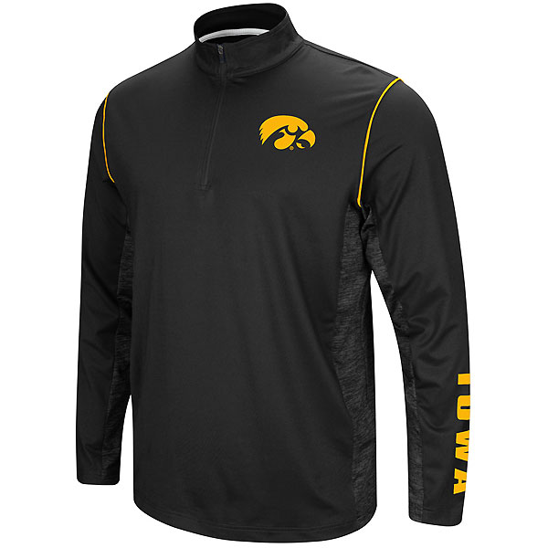 Iowa Hawkeyes Coffee Break 1/4 Zip Windshirt