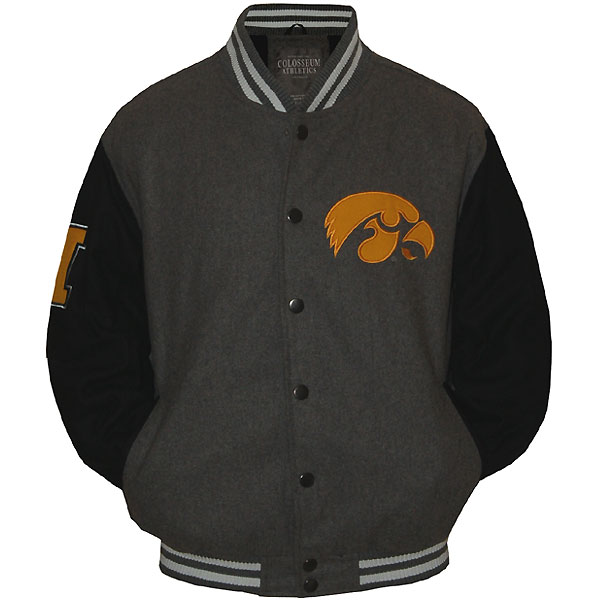 Iowa Hawkeyes Letterman Jacket