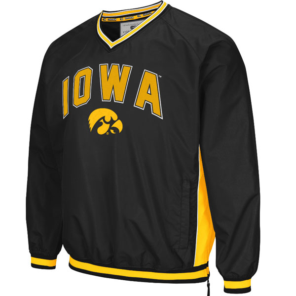 Iowa Hawkeyes Fair Catch Windbreaker