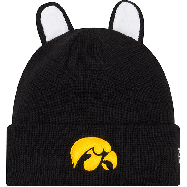 san francisco 1d40c eed32 ... coupon code for iowa hawkeyes youth cozie cutie knit hat e128b a88a2