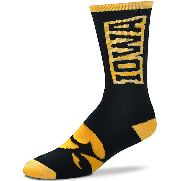 Iowa Hawkeyes Crush Socks