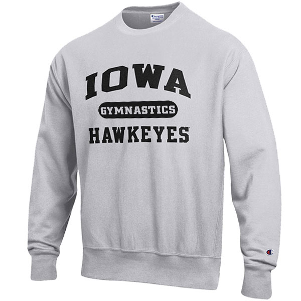 Iowa Hawkeyes Gymnastics Reverse Weave Crew Sweat