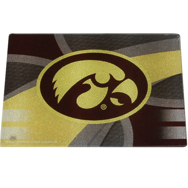 Iowa Hawkeyes Cutting Board Fiber