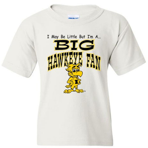 Iowa Hawkeyes Big Hawkeye Fan Toddler Tee