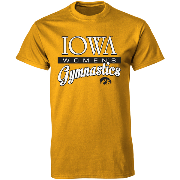 Iowa Hawkeyes Women's Gymnastics Tee