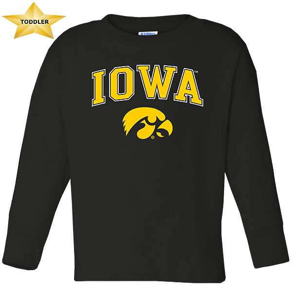 Iowa Hawkeyes Toddler Long Sleeve Tee