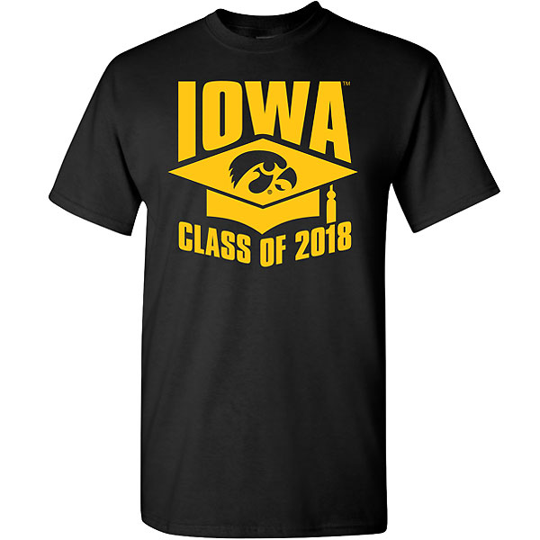 Iowa Hawkeyes Class of 2018 Tee