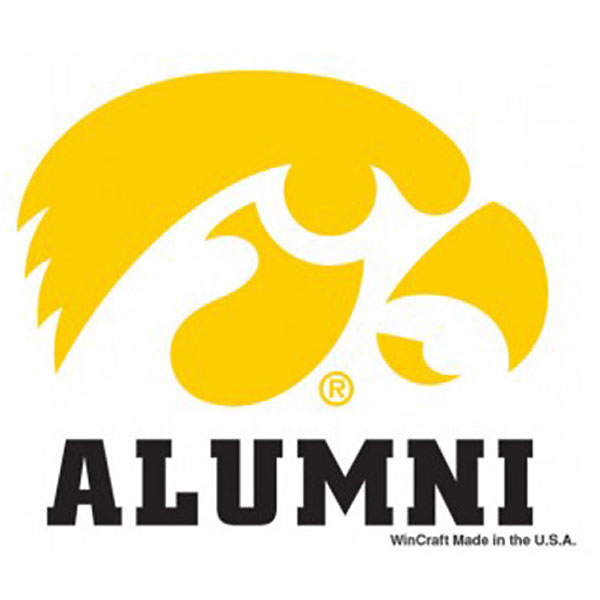 Iowa Hawkeyes Alumni Decal