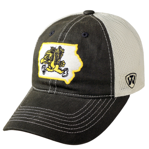 Iowa Hawkeyes Vintage Mesh Adjustable Cap