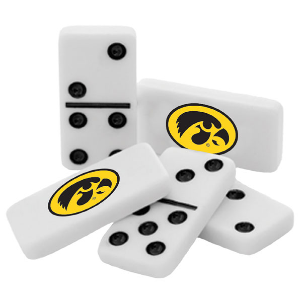 Iowa Hawkeyes Dominoes