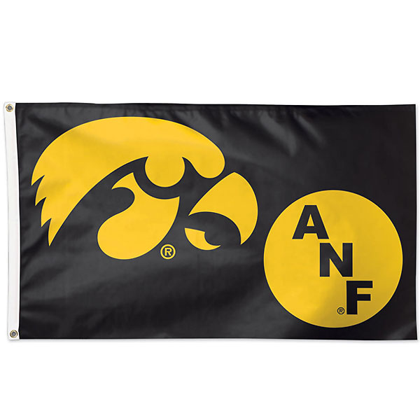 Iowa Hawkeyes ANF Flag