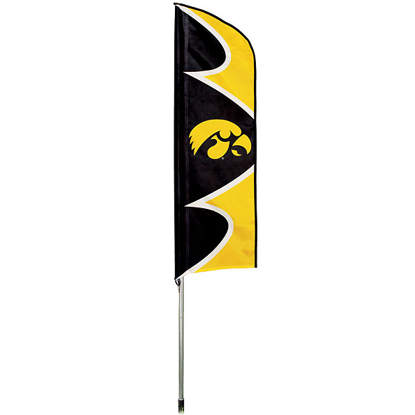 Iowa Hawkeyes Swooper Flag
