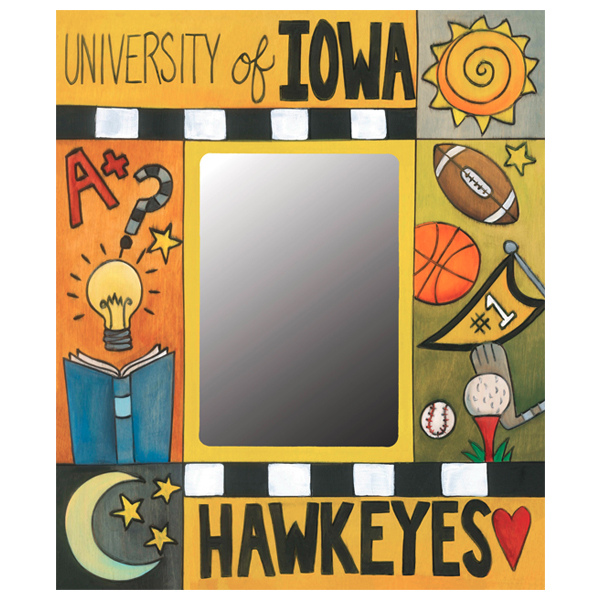 Iowa Hawkeyes Black & Gold Forever Picture Frame
