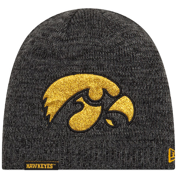 Iowa Hawkeyes Glitter Chic Knit Hat