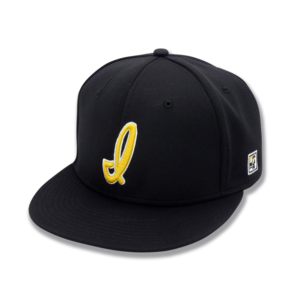 "Iowa Hawkeyes ""I"" Black Line Fitted Cap"