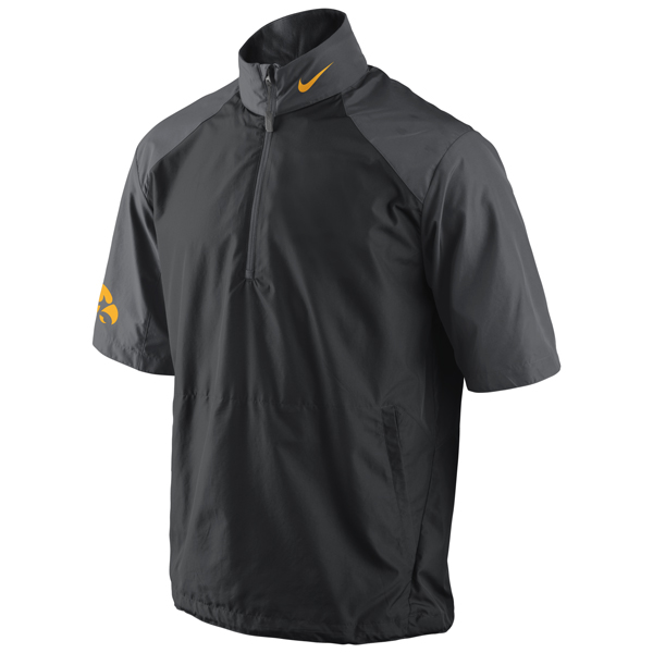 Iowa Hawkeyes Short-Sleeve Hot Jacket