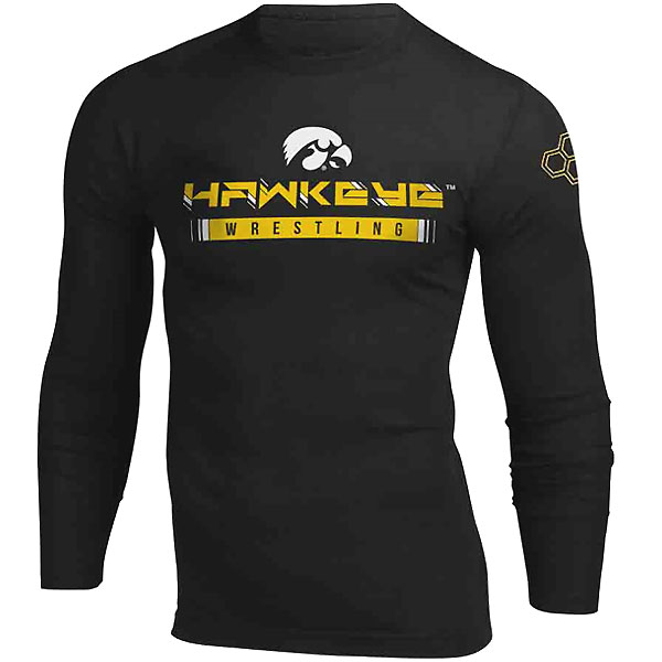 Iowa Hawkeyes Wrestling Long Sleeve Tee