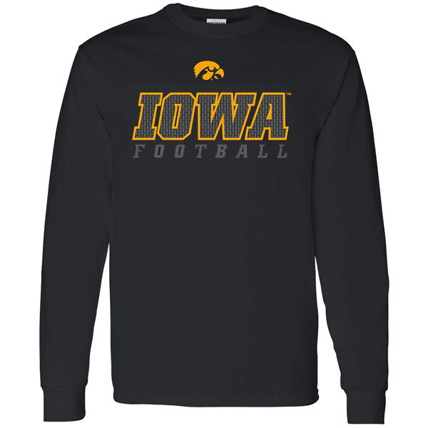 Iowa Hawkeyes Chain I Inside Iowa Tee