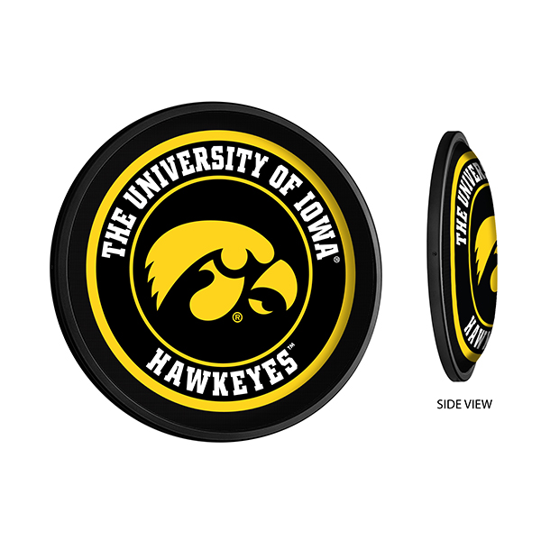 Iowa Hawkeyes Illuminated Tigerhawk Sign