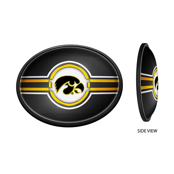 Iowa Hawkeyes Illuminated Tigerhawk Oval Sign