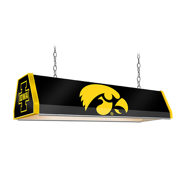 Iowa Hawkeyes Standard Pool Table Light