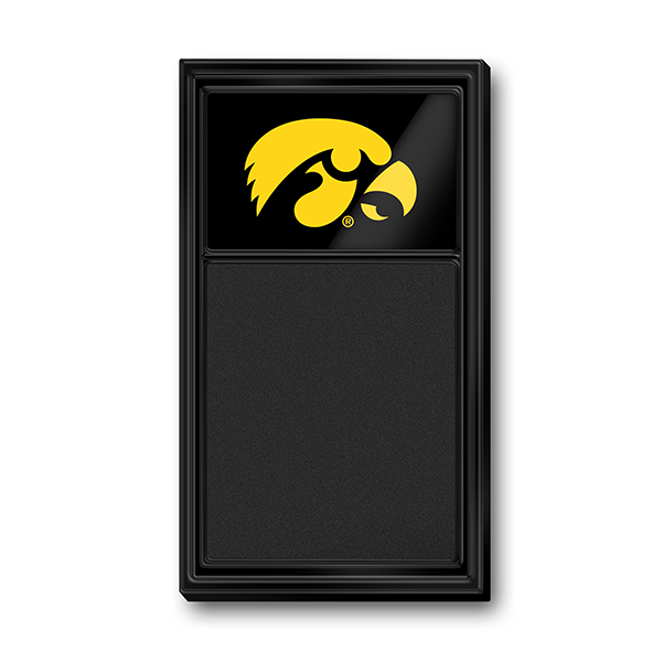 Iowa Hawkeyes Vertical Chalkboard