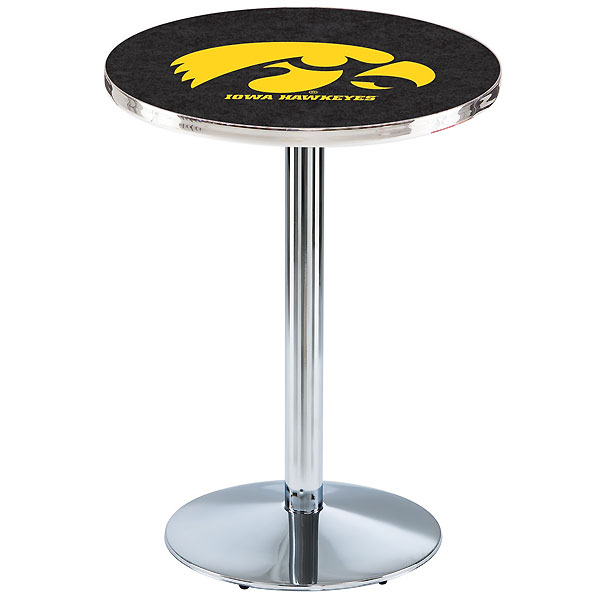 Iowa Hawkeyes Pub Table