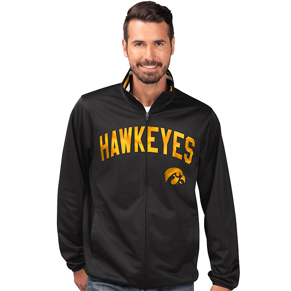 Iowa Hawkeyes Double Play Track Jacket