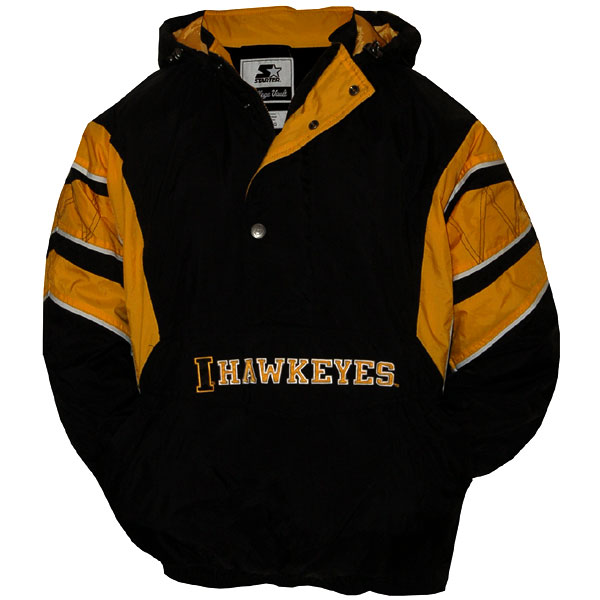 Iowa Hawkeyes Starter Jacket