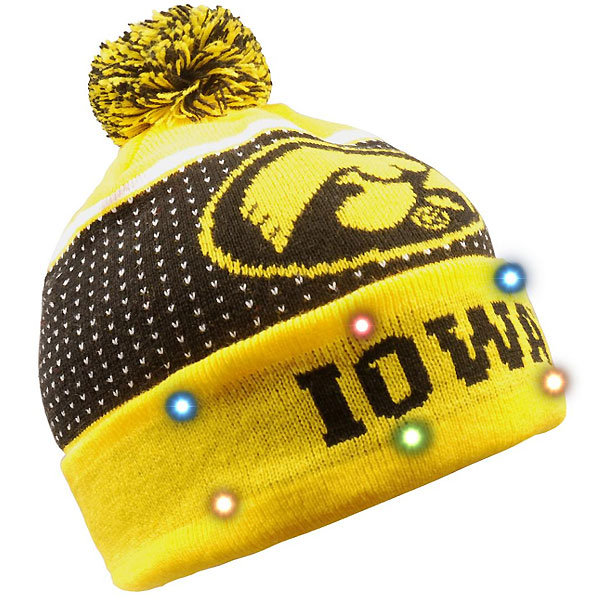 Iowa Hawkeyes Light Up Beanie