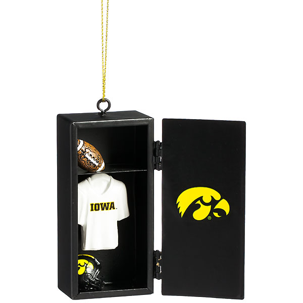 Iowa Hawkeyes Locker Ornament