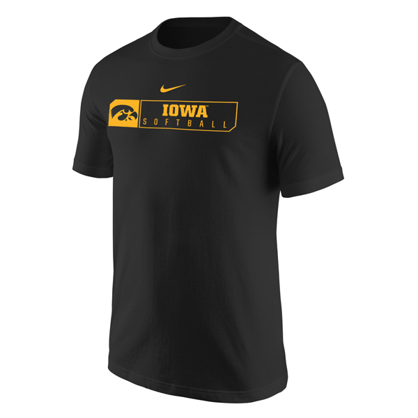 Iowa Hawkeyes Softball Core Tee