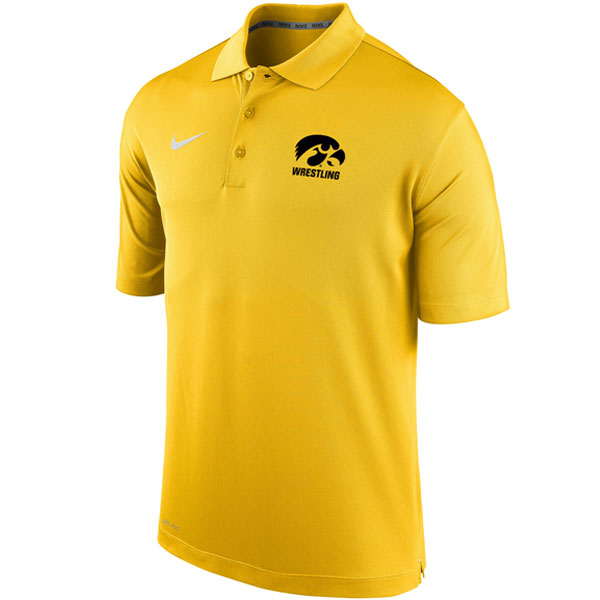 Iowa Hawkeyes Wrestling Polo