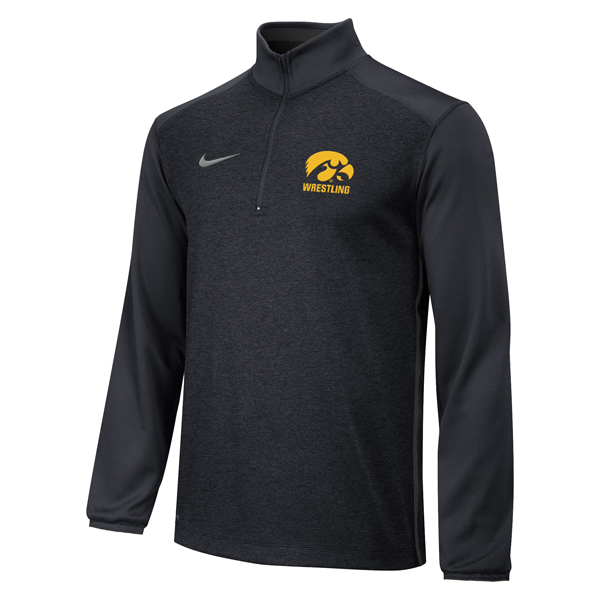 Iowa Hawkeyes Wrestling 1/4 Zip Top