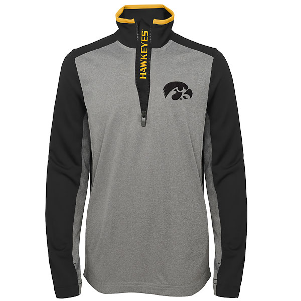 Iowa Hawkeyes Quarter Zip Jacket