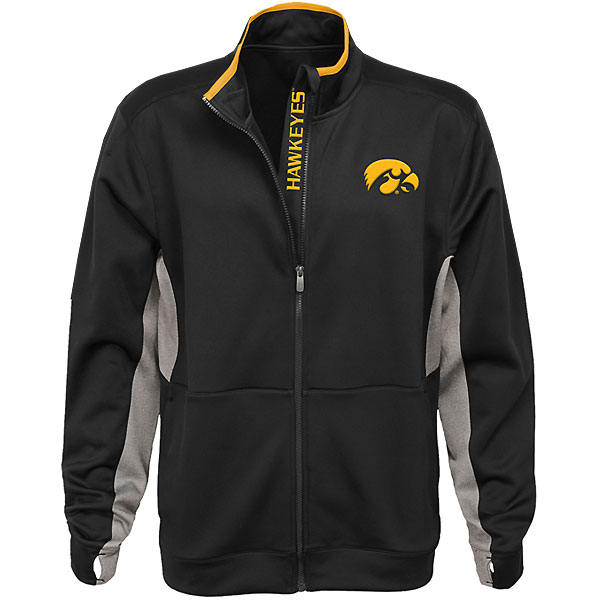 Iowa Hawkeyes Full Zip Jacket