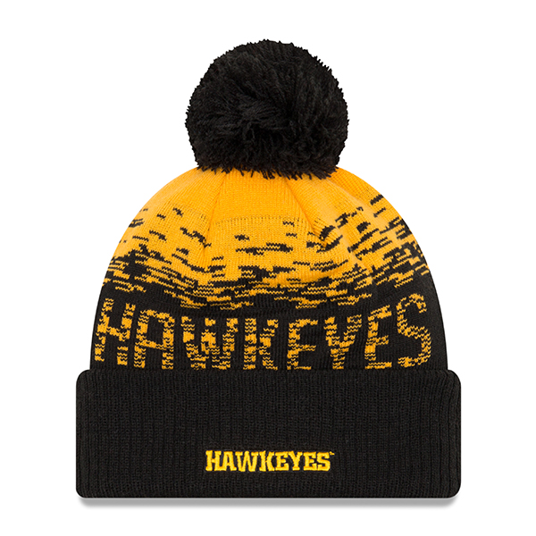 Iowa Hawkeyes Sport Knit Stocking Cap