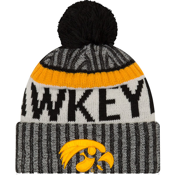 f9f597dd1a8 Iowa Hawkeyes Sports Knit Stocking Cap