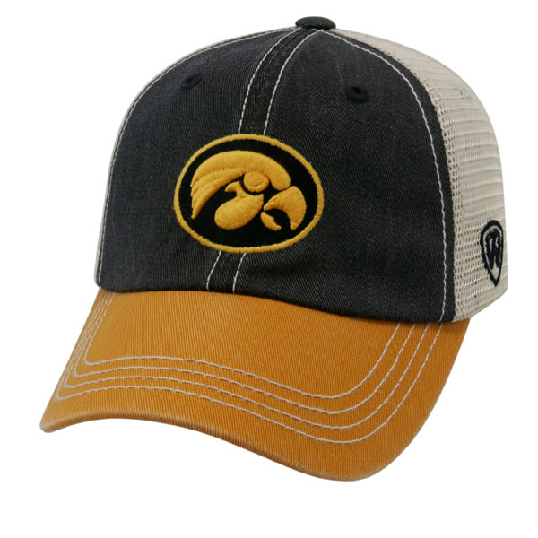 Iowa Hawkeyes Youth Off Road Cap