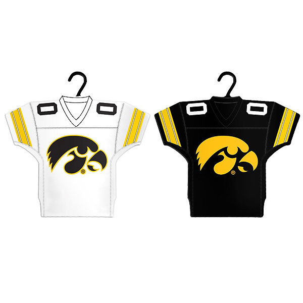 Iowa Hawkeyes Jersey Ornaments