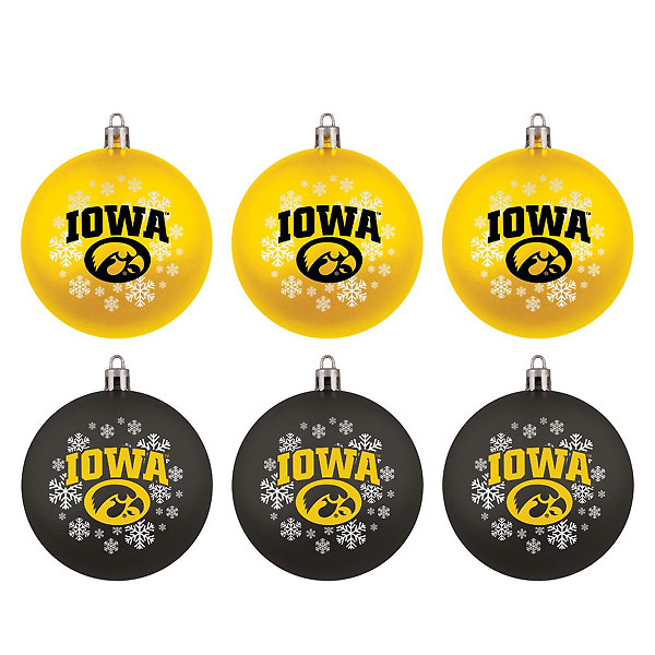 Iowa Hawkeyes Home & Away Ornament